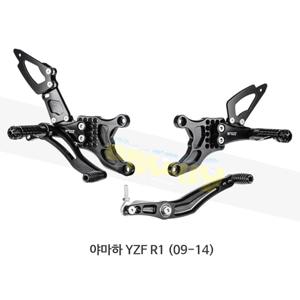 보나미치 레이싱 야마하 YZF R1 (09-14) 라이테크 리어셋 백스텝 Y007