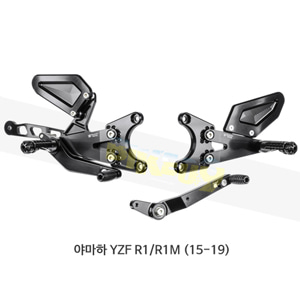 보나미치 레이싱 야마하 YZF R1/R1M (15-19) 라이테크 리어셋 백스텝 Y011