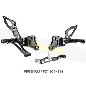 보나미치 레이싱 야마하 FZ8/ FZ1 (06-15) 라이테크 리어셋 백스텝 Y009