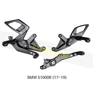 보나미치 레이싱 BMW S1000R (17-19) 라이테크 리어셋 백스텝 B006
