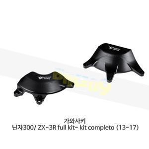 보나미치 레이싱 가와사키 닌자300/ ZX-3R full kit- kit completo (13-17) 엔진 케이스 가드 슬라이더 GB레이싱 CP031