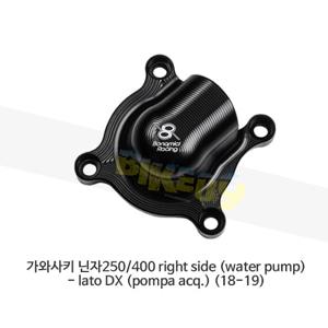 보나미치 레이싱 가와사키 닌자250/400 right side (water pump)- lato DX (pompa acq.) (18-19) 엔진 케이스 가드 슬라이더 GB레이싱 CP075