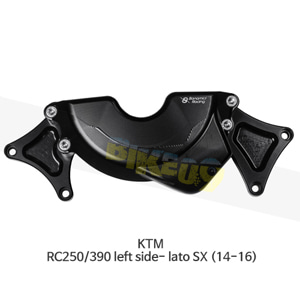 보나미치 레이싱 KTM RC250/390 left side- lato SX (14-16) 엔진 케이스 가드 슬라이더 GB레이싱 CP056