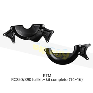 보나미치 레이싱 KTM RC250/390 full kit- kit completo (14-16) 엔진 케이스 가드 슬라이더 GB레이싱 CP057