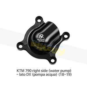 보나미치 레이싱 KTM 790 right side (water pump)- lato DX (pompa acqua) (18-19) 엔진 케이스 가드 슬라이더 GB레이싱 CP090