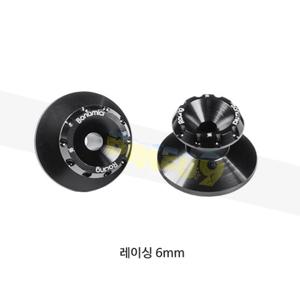 보나미치 레이싱 레이싱 6mm (BLACK) 스윙암 스풀 후크볼트 0027
