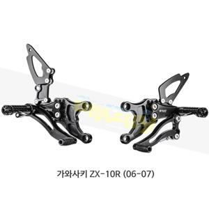보나미치 레이싱 가와사키 ZX-10R (06-07) 라이테크 리어셋 백스텝 K002