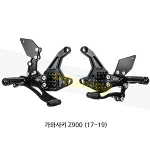 보나미치 레이싱 가와사키 Z900 (17-19) 라이테크 리어셋 백스텝 K017