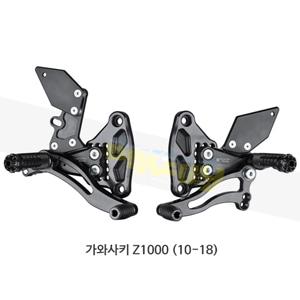 보나미치 레이싱 가와사키 Z1000 (10-18) 라이테크 리어셋 백스텝 K011