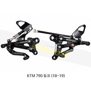 보나미치 레이싱 KTM 790 듀크 (18-19) 라이테크 리어셋 백스텝 KT04
