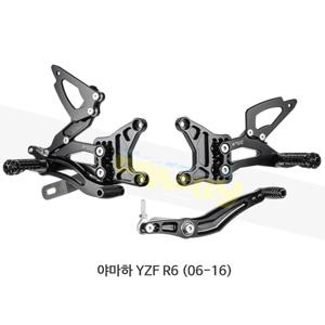 보나미치 레이싱 야마하 YZF R6 (06-16) 라이테크 리어셋 백스텝 Y005