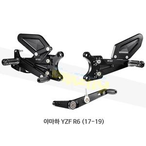 보나미치 레이싱 야마하 YZF R6 (17-19) 라이테크 리어셋 백스텝 Y013