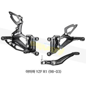 보나미치 레이싱 야마하 YZF R1 (98-03) 라이테크 리어셋 백스텝 Y001