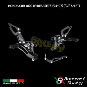 """보나미치 HONDA 혼다 CBR1000RR Rearsets (04-07)(""""GP"""" Shift) 튜닝 부품 파츠"""