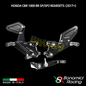 보나미치 HONDA 혼다 CBR1000RR SP/SP2 Rearsets (2017+) 튜닝 부품 파츠