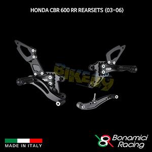 보나미치 HONDA 혼다 CBR600RR Rearsets (03-06) 튜닝 부품 파츠