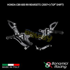 """보나미치 HONDA 혼다 CBR600RR Rearsets (2007+)(""""GP"""" Shift) 튜닝 부품 파츠"""