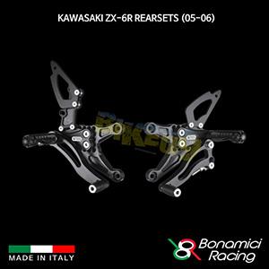 보나미치 KAWASAKI 가와사키 ZX6R Rearsets (05-06) 튜닝 부품 파츠