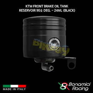 보나미치 KTM Front Brake Oil Tank Reservoir 90º deg. - 24ML (Black) 튜닝 부품 파츠