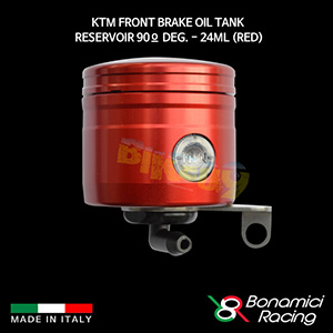 보나미치 KTM Front Brake Oil Tank Reservoir 90º deg. - 24ML (Red) 튜닝 부품 파츠