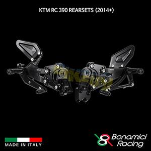 보나미치 KTM RC390 Rearsets (2014+) 튜닝 부품 파츠