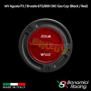 보나미치 MV AGUSTA MV아구스타 F3 / 브루탈레675/800 CNC Gas Cap (Black / Red) 튜닝 부품 파츠