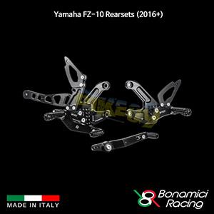 보나미치 YAMAHA 야마하 페이저 FZ-10 Rearsets (2016+) 튜닝 부품 파츠