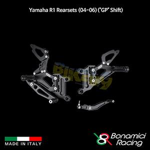 """보나미치 YAMAHA 야마하 R1 Rearsets (04-06)(""""GP"""" Shift) 튜닝 부품 파츠"""