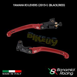 보나미치 YAMAHA 야마하 R3 Levers (2015+) (Black/Red) 튜닝 부품 파츠
