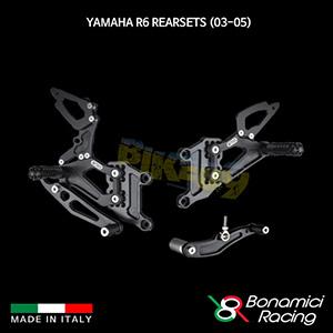 보나미치 YAMAHA 야마하 R6 Rearsets (03-05) 튜닝 부품 파츠