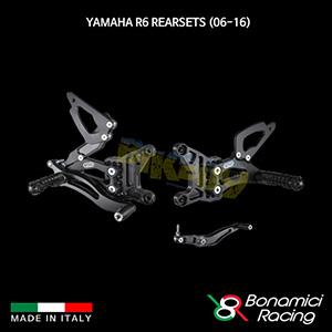 보나미치 YAMAHA 야마하 R6 Rearsets (06-16) 튜닝 부품 파츠