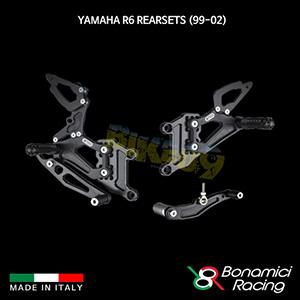 보나미치 YAMAHA 야마하 R6 Rearsets (99-02) 튜닝 부품 파츠