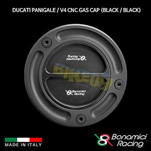 보나미치 DUCATI 두카티 파니갈래 / V4 CNC Gas Cap (Black / Black) 튜닝 부품 파츠
