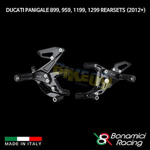 보나미치 DUCATI 두카티 파니갈래 899, 959, 1199, 1299 Rearsets (2012+) 튜닝 부품 파츠