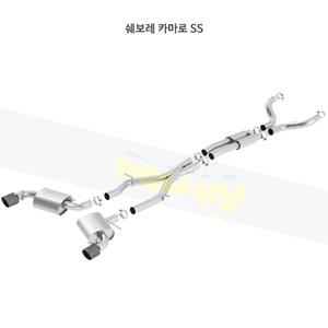 쉐보레 카마로 SS 캣백 Exhaust 시스템 ATAK (16-21)- 볼라 어택 배기 머플러 Part #140690CFBA