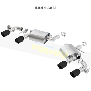 쉐보레 카마로 SS 액슬백 Exhaust 시스템 ATAK (16-21)- 볼라 어택 배기 머플러 Part #11925CB
