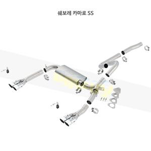 쉐보레 카마로 SS 캣백 Exhaust 시스템 (95-97)- 볼라 어택 배기 머플러 Part #14555
