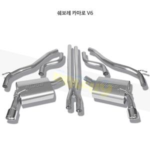 쉐보레 카마로 V6 캣백 Exhaust 시스템 투어링 (10-13)- 볼라 어택 배기 머플러 Part #140282