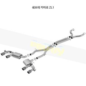 쉐보레 카마로 ZL1 캣백 Exhaust 시스템 S-타입 (17-20)- 볼라 어택 배기 머플러 Part #140726CFBA