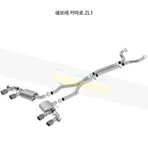 쉐보레 카마로 ZL1 캣백 Exhaust 시스템 ATAK (17-20)- 볼라 어택 배기 머플러 Part #140727CFBA