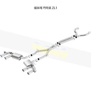 쉐보레 카마로 ZL1 캣백 Exhaust 시스템 ATAK (17-20)- 볼라 어택 배기 머플러 Part #140727