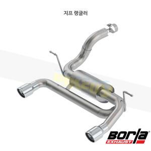 지프 랭글러 액슬백 Exhaust 시스템 S-타입 (18-21)- 볼라 어택 배기 머플러 Part #11963
