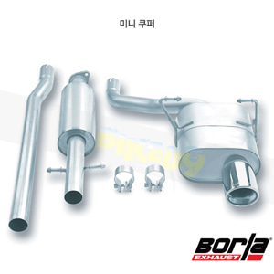 미니 쿠퍼 캣백 Exhaust 시스템 투어링 (02-07)- 볼라 어택 배기 머플러 Part #140030