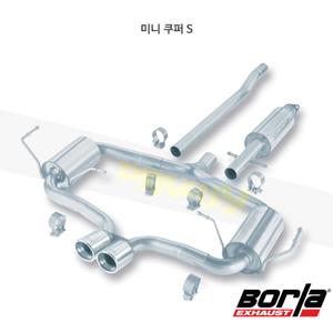 미니 쿠퍼 S 캣백 Exhaust 시스템 S-타입 (04-06)- 볼라 어택 배기 머플러 Part #140119