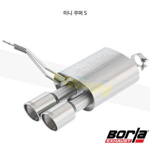 미니 쿠퍼 S 액슬백 Exhaust 시스템 투어링 (14-20)- 볼라 어택 배기 머플러 Part #11914