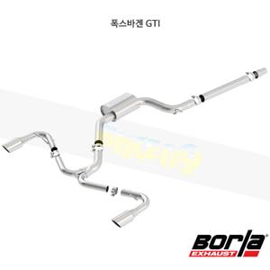 폭스바겐 GTI 캣백 Exhaust 시스템 S-타입 (18-20)- 볼라 어택 배기 머플러 Part #140751