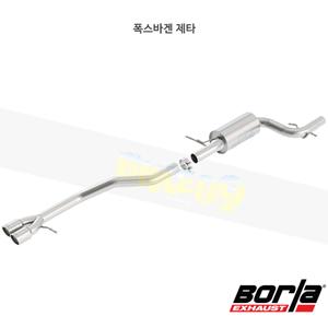 폭스바겐 제타 캣백 Exhaust 시스템 S-타입 (12-18)- 볼라 어택 배기 머플러 Part #140472