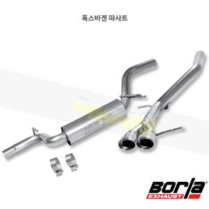 폭스바겐 파사트 캣백 Exhaust 시스템 S-타입 (07-17)- 볼라 어택 배기 머플러 Part #140335