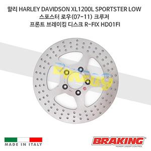 할리 HARLEY DAVIDSON XL1200L SPORTSTER LOW 스포스터 로우(07-11) 크루저 프론트 브레이킹 디스크 R-FIX HD01FI