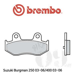 Suzuki Burgman 250 03-06/400 03-06  브레이크 패드 브렘보 리어